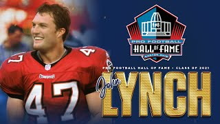 Class of 2021 Hall of Fame Knocks John Lynch