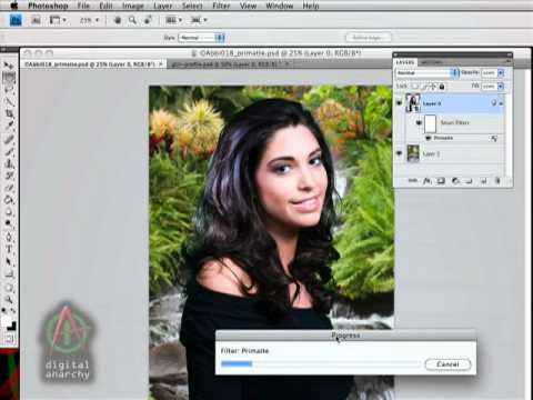 Using the Primatte Chromakey Plugin as a Smart Filter in Photoshop