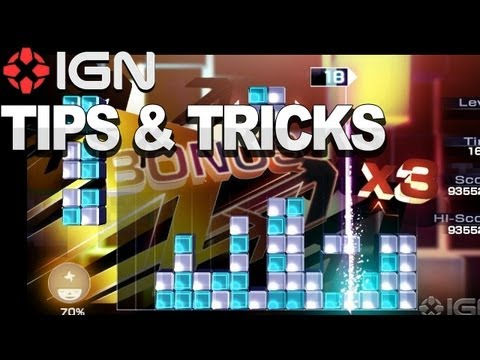 Lumines: Electronic Symphony - Tips and Tricks