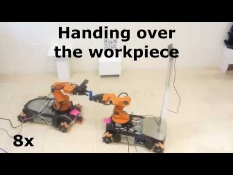 Towards intelligent robotic agents for cooperative tasks