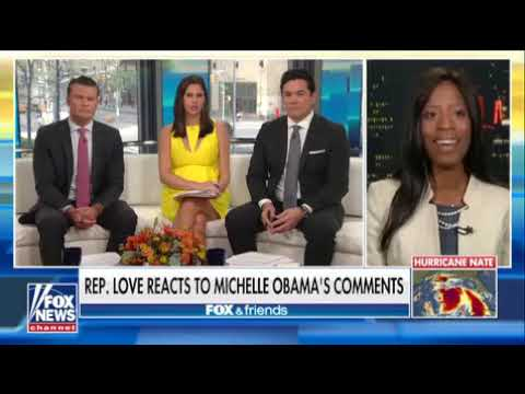 "Mia Love Blasts Michelle Obama ""I am not white and I am not a male,"""