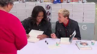 Ellen & Michelle Obama Go to Costco6