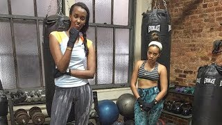 ANGE Kagame Work Out