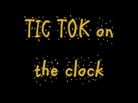 Photo of TIK TOK Ke$ha lyrics
