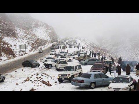 snowfall in ras al khaimah 2017