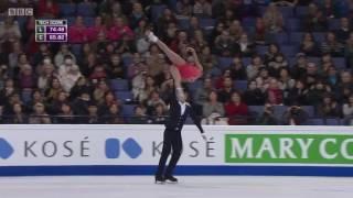 2017花样滑冰世界锦标赛双人滑冠军●隋文静●韩聪