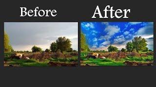 Photoshop Se HDR Effect Kaise  Banaye  Hindi Tutorial