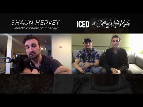 Socially Awkward Coffee with Shaun Hervey | ICED Coffee With Kyles 2