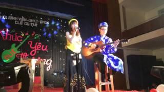 Làng quan họ quê tôi - Tường Vy , Bình Tôn ( Khúc Yêu Thương 2016) CLB Guitar DUE