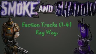 War Commander : Operation: Smoke And Shadow Faction Tracks (1-4) Easy Way.