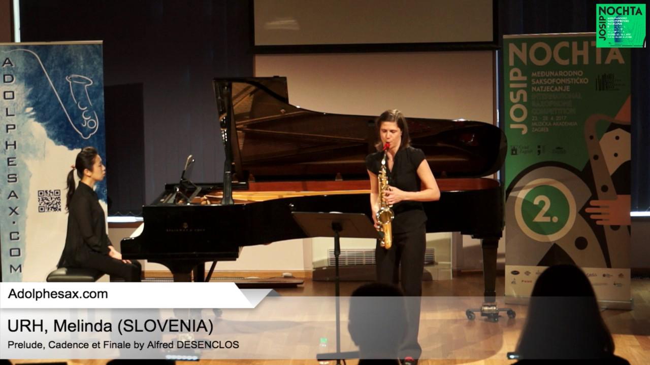 Prelude, Cadence et Finale by Alfred Desenclos – URH, Melinda (Slovenia)