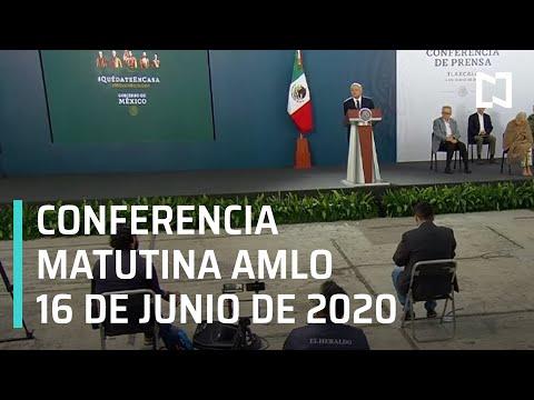 Conferencia matutina AMLO/ 16 de junio de 2020
