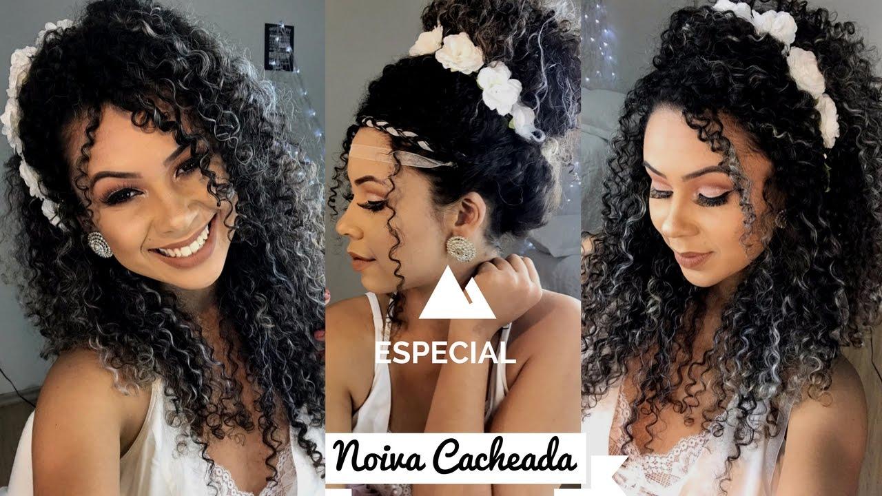 3 Penteados Fáceis P Fotos Pré Casamento Noiva Cacheada Suzane Camila