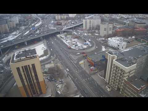 Москва - Нижегородская улица - веб камера 04.02.2020, 12:56