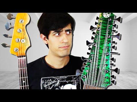4 STRINGS Bass Guitar Vs. 24 STRINGS Bass Guitar