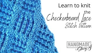 Checkerboard Lace - Continental Style