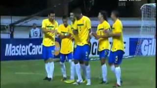 Neymar Celebration with Ronaldinho (Brazil - Argentina)
