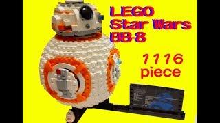 【LEGOレゴ】 スターウォーズ(Star Wars ) BB-8 75187 Building Kit (1106 Piece) thumbnail