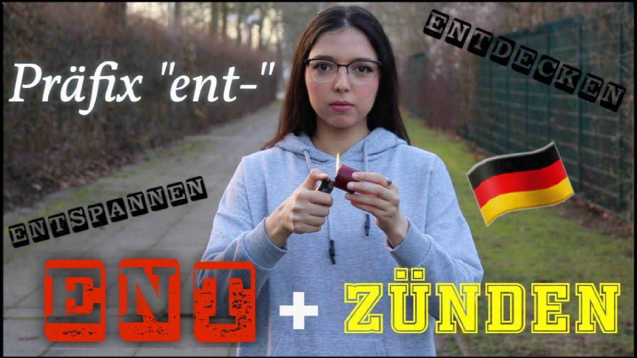 "Download Deutsche Verben mit dem Präfix ""ent-"" / German verbs with the prefix ""ent-"""
