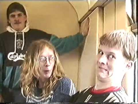 1994 Portadown corcrain and rectory dudes train journey adventure