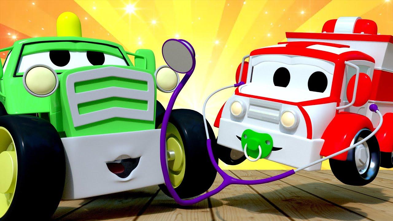 Kids Car Cartoon Show And Tell Car City Cars And Trucks
