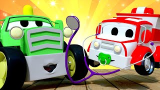 Kids car cartoon -  Show And Tell! - Car City ! Cars and Trucks Cartoon for kids