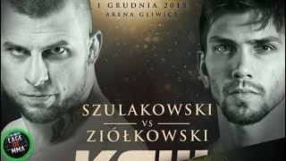 KSW 46 - Grzegorz Szulakowski vs Marian Ziołkowski