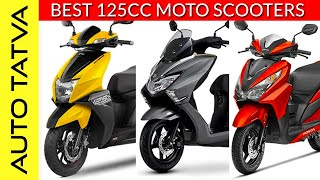 The 125 cc Moto-Scooters in India | Which one suits you best? | Overview | Hindi