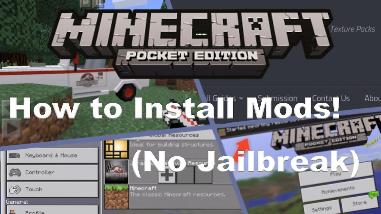 HOW TO INSTALL MODS ON IOS (NO JAILBREAK ) 1 0 3 YouTube