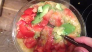 Крем суп с булгуром / Cream Soup with Bulgur