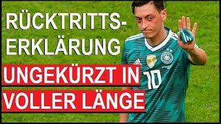 🔴Rücktritt: Mesut Özil kommt zu Wort ungekürzt und in voller Länge