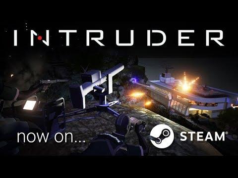 """""""Intruder"""", мультиплеерный стелс-шутер с тактическим разбрасыванием банановой кожуры"""
