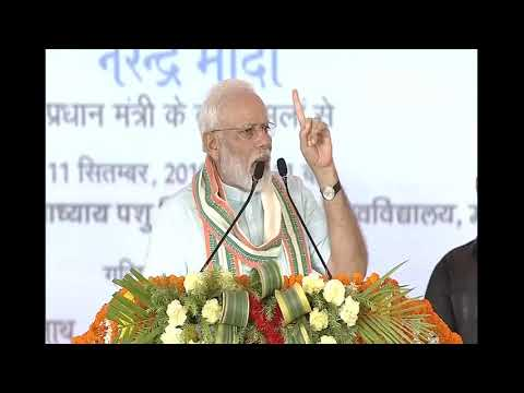 PM Narendra Modi launches multiple development projects in Mathura, UP