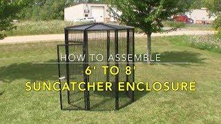 6'-8' Suncatcher Enclosure Assembly (SCA000)