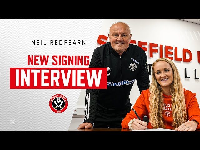 Neil Redfearn   SUFC Women Manager Interview   Redders on Sophie Bradley-Auckland