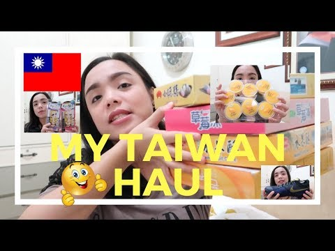 MY TAIWAN HAUL | Faith Miquiabas ♥