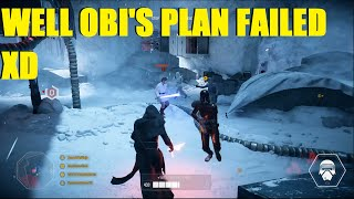 Star Wars Battlefront 2 - That was a great plan Obi wan XD Kylo Ren takes Hoth!