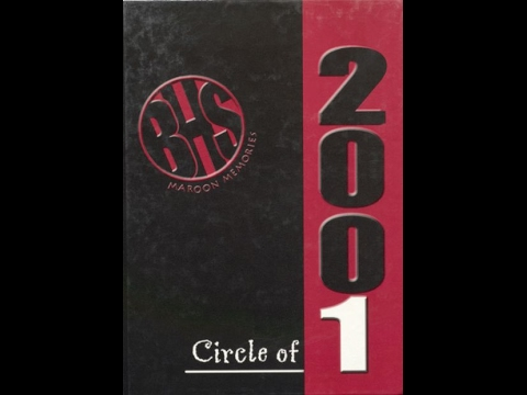 Blackwell High School Graduation 2001