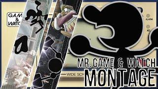 Mr. Game & Watch Montage (Super Smash Bros. for Wii U)