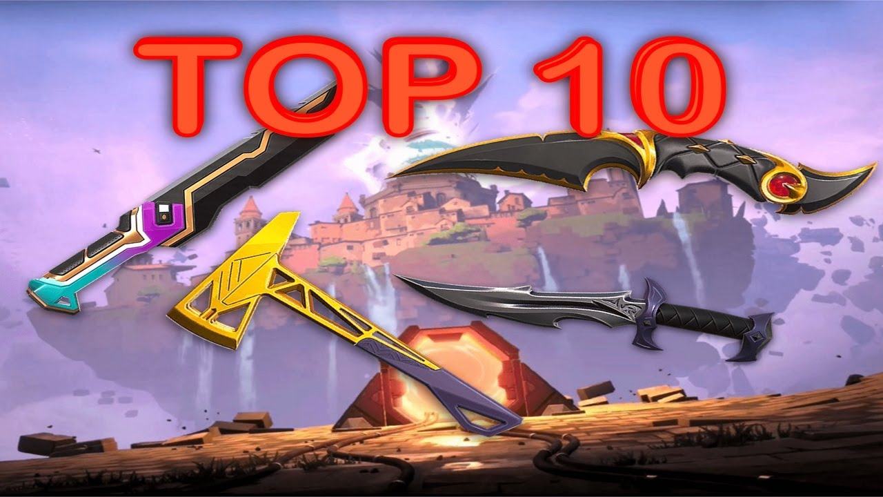 Download Ranking Top 10 VALORANT KNIFE Skins From Worst To Best