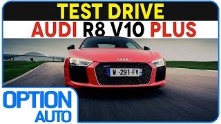 ★ Test Drive • Audi R8 V10 Plus on Racetrack (Option Auto)