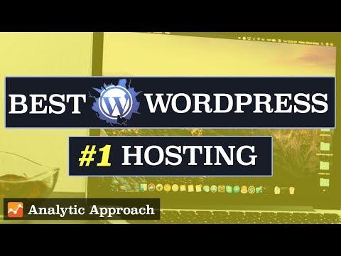 Top 3 Best Web Hosting for WordPress 2018 - ANALYTIC Based Hosting Reviews