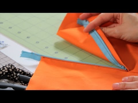 How to Sew a Lapped Zipper | Sewing Machine