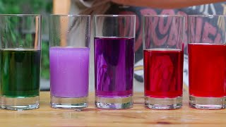 Kırmızı Lahana ile Asit-Baz Deneyi