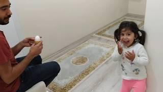 Ayşe Ebrar Babasına Dondurma Şakası Yaptı. Eğlenceli Çocuk Videosu