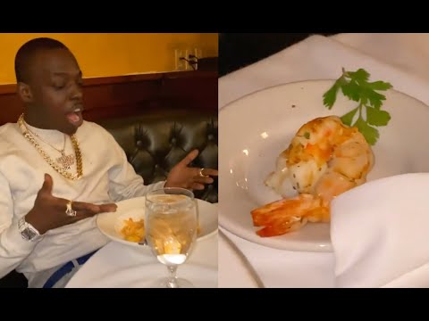 Bobby Shmurda Big Mad After Restaurant Serves Him 1 Baby Shrimp