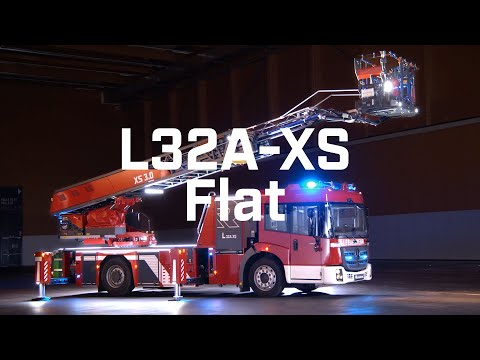 Clear the stage for the L32A-XS Flat aerial ladder