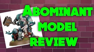 Abominant model review YouTube Videos