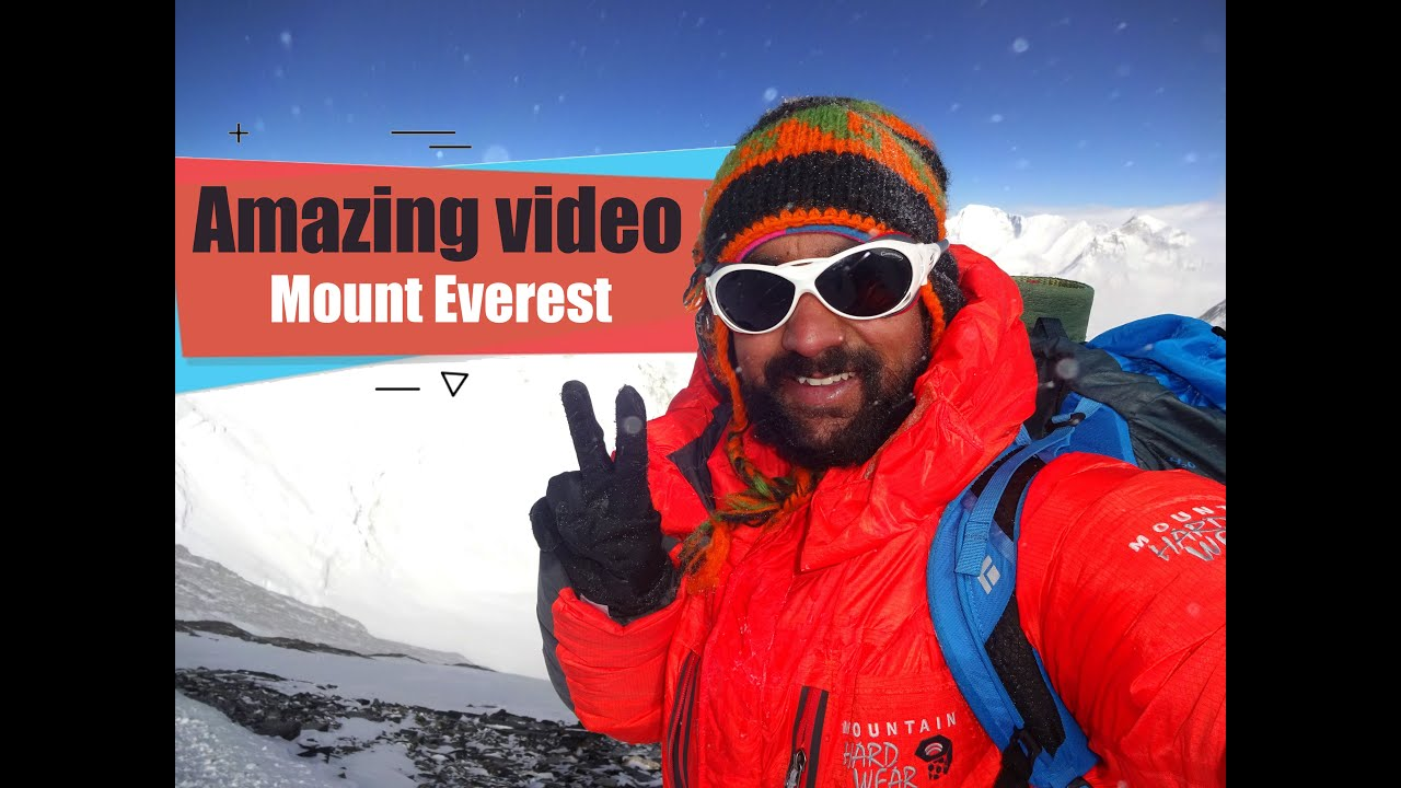 Mount Everest Top . Mount Everest Summit Video - YouTube