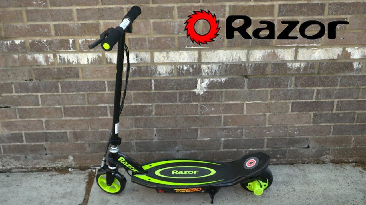 Razor Power Core E90 Electric Scooter From Razor Youtube